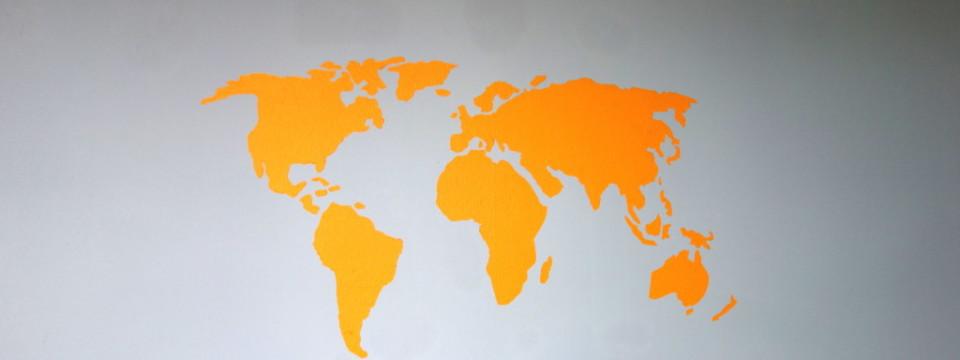Slajder – ściana ze światem