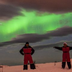 W pogoni za światłem w Tromsø czyli zorza polarna oczami Basi i Michała Świderskich / 11 marca