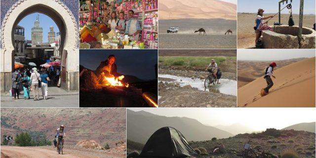 Rowerami przez Maroko