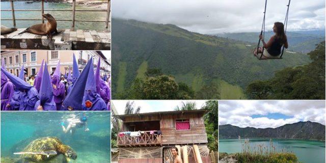 Huśtawki, wulkany i iguany, czyli w podróży przez Ekwador