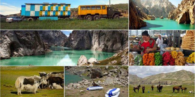 Niezwykła Kirgizja i seledynowa tajemnica gór