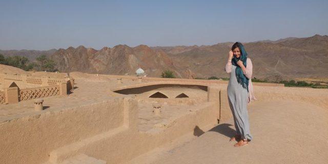 Samotna kobieta w Iranie