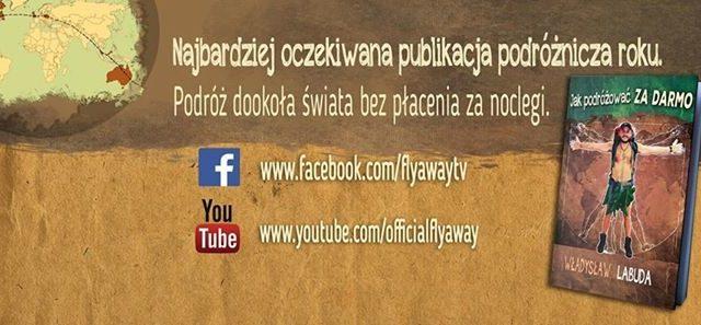 Jak podróżować za darmo – Władysław Labuda – prelekcja i promocja książki