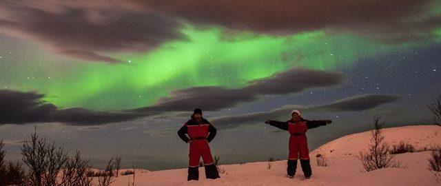 W pogoni za światłem w Tromsø czyli zorza polarna oczami Basi i Michała Świderskich.