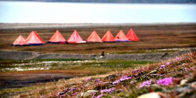 Spitsbergen czyli pod namiotem w Arktyce