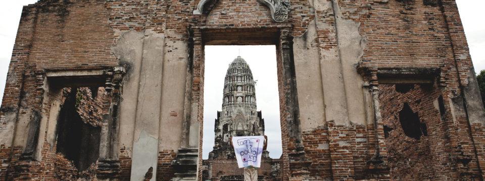 Tajlandia Ayutthaya #tamwpodrozy