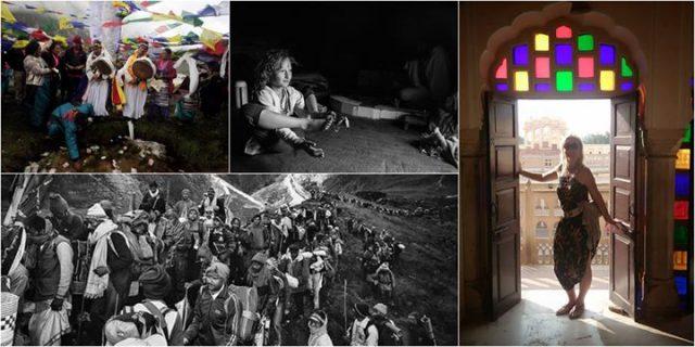 Indie oczami matki i córki Opowieść o podróżach w Himalaje /Free