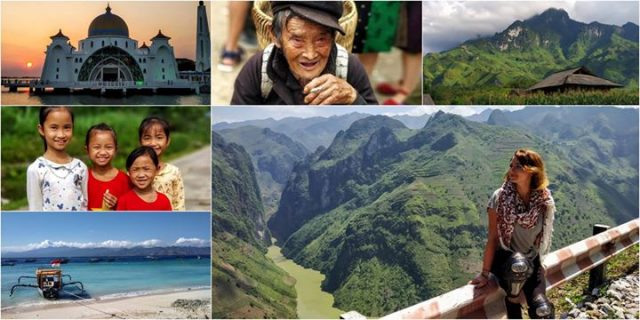 Azja Pd-Wsch i Indie z perspektywy solo podróżniczki / Free