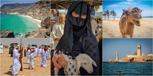 Oman z namiotu. Okruchy raju na ziemi. / Free