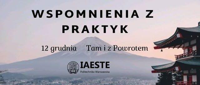 Wspomnienia z praktyk IAESTE