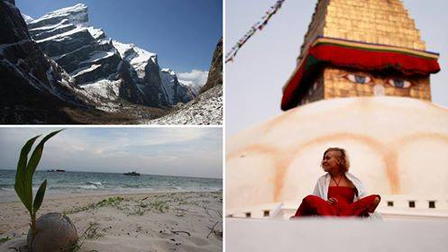Od rajskich wysp po śnieżne szczyty Himalajów w 7 miesięcy /Free