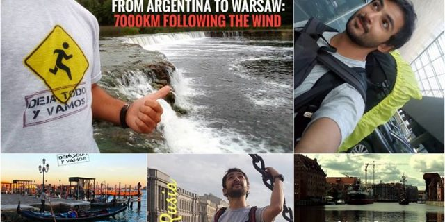 From Argentina to Warsaw: 7000 km following the wind / Free