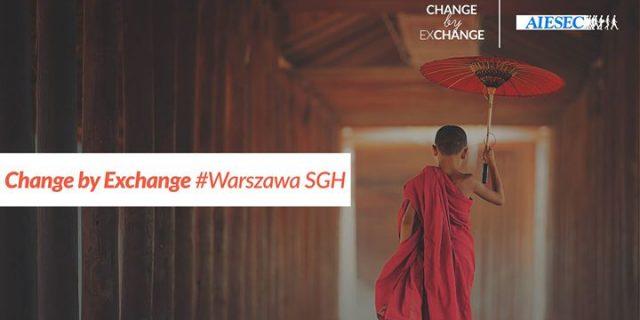 Change by Exchange #Warszawa SGH