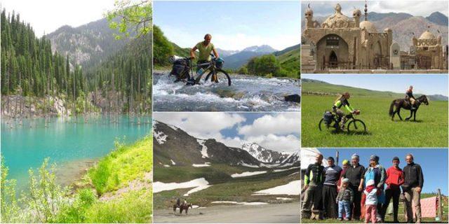 Rowerami przez Kazachstan i Kirgistan / Free