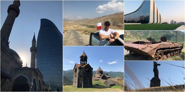 Przelotem przez Azerbejdżan, Armenię i Górski Karabach / Free